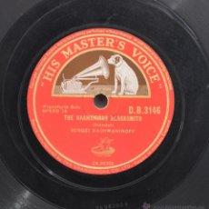 Discos de pizarra: DISCO GRAMOFONO. THE HARMONIUS, BLACKSMITH. HANDEL. Nº 36. Lote 47149645