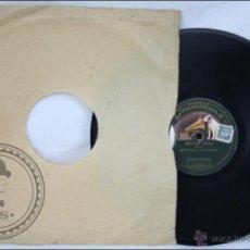 Discos de pizarra: DISCO DE PIZARRA / PIEDRA - SALOMÉ. FOX-TROT. ORQUESTA DEL GRAMÓFONO - ED. GRAMÓFONO / VOZ DE SU AMO. Lote 47298336