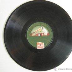 Discos de pizarra: ANTIGUO DISCO PARA GRAMOFONO DE PIZARRA MONOFACIAL - VENGA SALAO , VALS-JOTA BANDA PAL DE BARCELONA. Lote 47505490