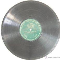 Discos de pizarra: ANTIGUO DISCO PARA GRAMOFONO DE PIZARRA MONOFACIAL - .LA CORTE DEL FARAON-,SRAS ANDRES Y BLANCH. Lote 47506566