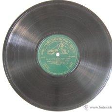 Discos de pizarra: ANTIGUO DISCO PARA GRAMOFONO DE PIZARRA MONOFACIAL - .LA CORTE DEL FARAON-,GARROTIN-GONZALITO Y MART. Lote 47506634