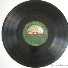 Discos de pizarra: ANTIGUO DISCO PARA GRAMOFONO DE PIZARRA MONOFACIAL - ROBERTO - SCHOTISCH BDA MPAL BARCELONA. Lote 47508230