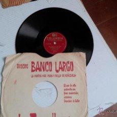 Discos de pizarra: DISCO PIZARRA COLUMBIA HERMANAS PADILLA. Lote 47540755