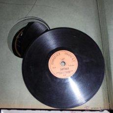 Discos de pizarra: LOTE DE 56 DISCOS DE PIZARRA. Lote 47654668