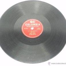 Discos de pizarra: DISCO DE PIZARRA DUETO AZTECA, MARIA Y MEMO CON EL MARIACHI PULIDO, LA CULPABLE / OLVIDALA CORAZON,. Lote 176619579