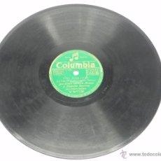 Discos de pizarra: DISCO DE PIZARRA DE DON LIÑAN, CARMITA ARENAS Y JOAQUIN CARRERAS, CON LA ORQUESTA CASABLANCA, ED. CO. Lote 47669648