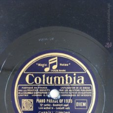 Disques en gomme-laque: PIANO PARADE OF 1938. CARROLL GIBBONS. Lote 47724711
