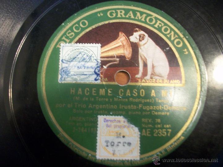 RAMONA (VALS). HACEME CASO A MÍ (TANGO) (Música - Discos - Pizarra - Otros estilos)