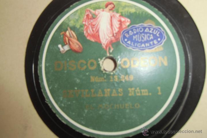 78 RPM FLAMENCO EL MOCHUELO (Música - Discos - Pizarra - Flamenco, Canción española y Cuplé)