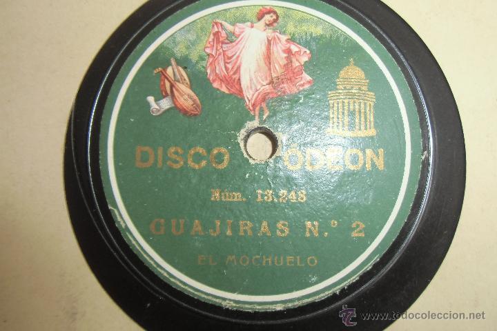 Discos de pizarra: 78 RPM FLAMENCO EL MOCHUELO - Foto 2 - 48381053