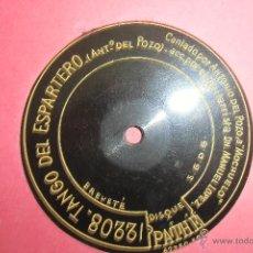 Discos de pizarra: MOCHUELO PATHE MUY RARO, 78 RPM. Lote 48381785