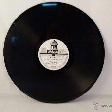 Discos de pizarra: DISCO DE PIZARRA DE ODEON - LOLI - BARCAROLA. Lote 48409187