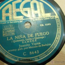 Discos de pizarra: DISCO DE PIZARRA FLAMENCO. Lote 48475531