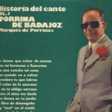 Discos de pizarra: DE MANUEL TORRES NO PORRINA BADAJOZ MARQUEZ PORRA ANTOLOGIA ANTIGUO 1959. Lote 48486366