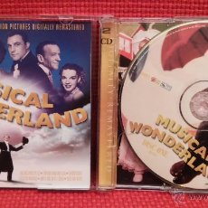 Discos de pizarra: MUSICAL WONDERLAND - ORIGINAL MOTION PICTURES DIGITALLY REMASTERED - 2CD (GIGI, DR. ZHIVAGO ...). Lote 48633883