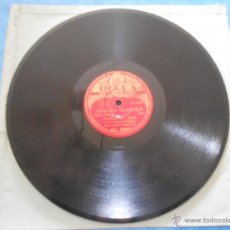 Discos de pizarra: DISCO DE PIZARRA. FORMATO EP. EDMUNDO ROS, MANAGUA NICARAGUA, RUMBA BA. DECCA. Lote 48698759