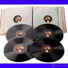 Discos de pizarra: ALBUM CON 12 DISCOS DE GRAMÓFONO. 78 RPM. TEMÁTICA VARIADA, PRINCIPALMENTE CLÁSICA.. Lote 48886992