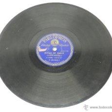 Discos de pizarra: DISCO DE PIZARRA DE CECILIO NAVARRO Y RONDALLA VENECIA, JOTAS DE BAILE / JOTAS DE RONDA, DISCO PARLO. Lote 48915618