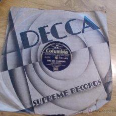 Discos de pizarra: CHARLES KULLMAN. COME BACK TO SORRENTO. SERENADE.. Lote 48964965
