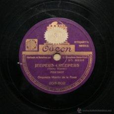 Discos de pizarra: ORQUESTA MARTÍN DE LA ROSA - JEEPERS CREEPERS / JUNTO A TI. Lote 49000029