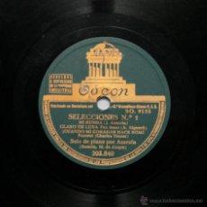 Discos de pizarra: JOSÉ AZAROLA - SELECCIONES Nº1 / SELECCIONES Nº 2. Lote 49000188