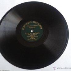 Discos de pizarra: DISCO DE PIZARRA TOREADOR ANDALOUSE - REVE DE VOLUPTE DACAPO STREICH ORCHESTER . Lote 49006880