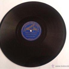 Discos de pizarra: DISCO DE PIZARRA UPA! UPA! - TIROLIROLIRO ORQUESTA GRAN CASINO LA VOZ DE SU AMO. Lote 49007589