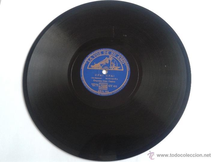 Discos de pizarra: DISCO DE PIZARRA UPA! UPA! - TIROLIROLIRO ORQUESTA GRAN CASINO LA VOZ DE SU AMO - Foto 2 - 49007589