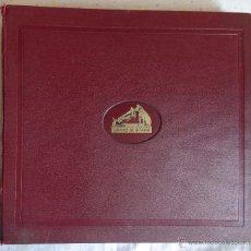 Discos de pizarra: EL CREPUSCULO DE LOS DIOSES Y SCHEHERAZADE 11 LP DE PIZARRA EN ALBUM LA VOZ DE SU AMO. Lote 49267234
