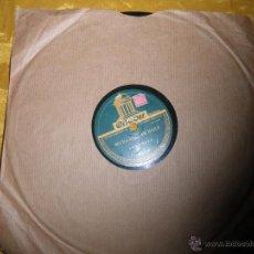 Discos de pizarra: ORQUESTA VILCHES. BULERIAS BAILE / LA CALETA . LA VOZ DE SU AMO. 10 PULGADAS . PIZARRA. IMPECABLE. Lote 49418288
