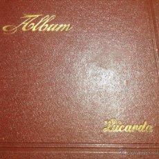 Discos de pizarra: 6 DISCOS PIZARRA CON ÁLBUM DE RADIO LUCARDA - AÑOS 30 - MUY BUEN ESTADO DE TODO - DISCO. Lote 49437838