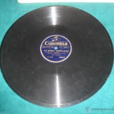 Discos de pizarra: OLAF TRIGWASON ( NORWEGIAN BALLADE )/ KEDROFF QUARTETTE, SONG OF THE VOLGA BOATMEN. COLUMBIA. Lote 49454992