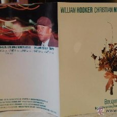 Discos de pizarra: WILLIAM HOOKER - CHRISTIAN MARCLAY - LEE RANALDO (SONIC YOUTH) - BOUQUET, 2000- FREE JAZZ. Lote 49750851