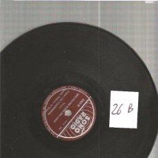 Discos de pizarra: ORQUESTA FOLKLORICA. Lote 49992087