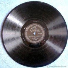 Discos de pizarra: DISCO 78 RPM PIZARRA- OSCAR DE LA ROSA Y ORQUESTA- LA CONGA DE BROADWAY, E. LECUONA - UNA DOS TRES.. Lote 50259965