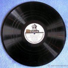 Discos de pizarra: DISCO 78 RPM PIZARRA - GRACIA DE TRIANA - MALAGUEÑA Y ALEGRIAS CON MANOLO DE BADAJOZ. . Lote 50275448