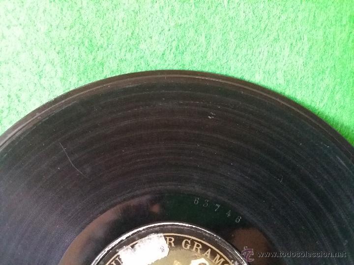 Discos de pizarra: DISCO DE PIZARRA LA VIUDA ALEGRE LEHAR CANTADA POR LUISA VELA Y CORO G C-63746 - Foto 4 - 50300816