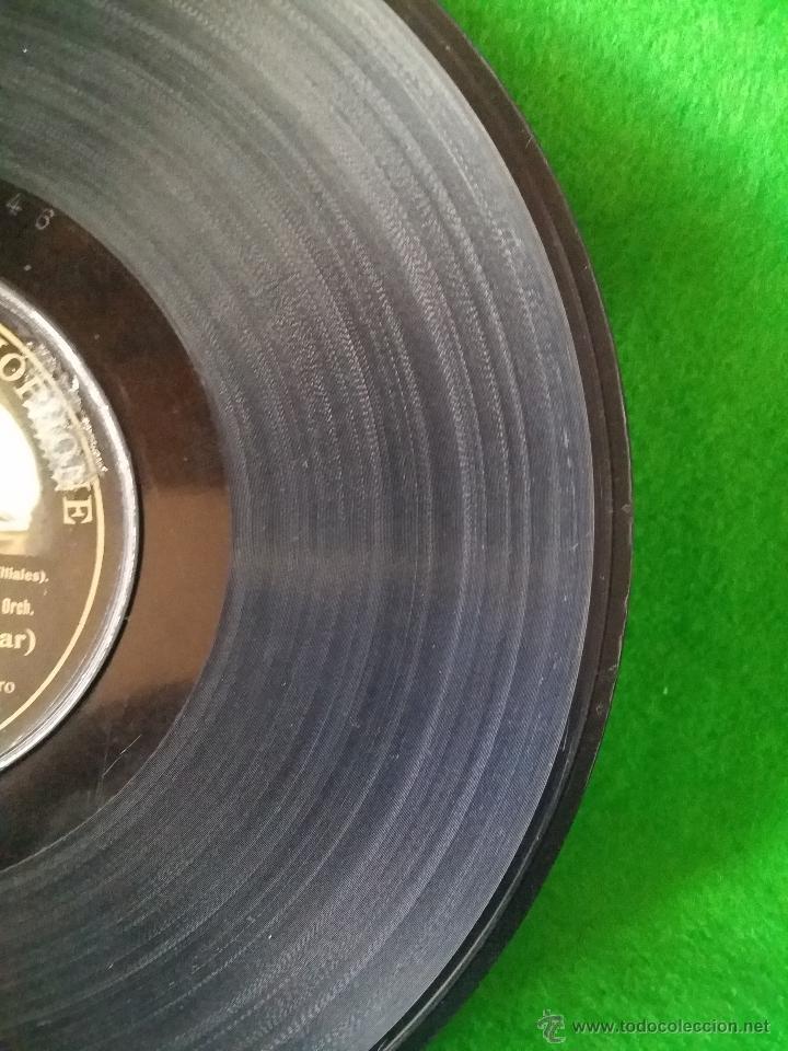 Discos de pizarra: DISCO DE PIZARRA LA VIUDA ALEGRE LEHAR CANTADA POR LUISA VELA Y CORO G C-63746 - Foto 7 - 50300816