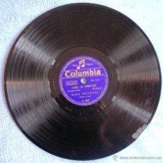 Discos de pizarra: DISCO 78 RPM PIZARRA - COBLA BARCELONA - L`ANELL DE PROMETATGE, LLEVANTINA (SARDANAS ). CON FALTA.. Lote 50309498