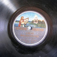 Discos de pizarra: DISCO 78 RPM PIZARRA - RONDALLA FIGARO, BUENOS AIRES: LA GIRALDA - MACHAQUITO (PASODOBLES TOREROS). Lote 50310866