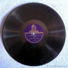 Discos de pizarra: DISCO 78 RPM PIZARRA - MALAGUEÑAS Y SEGUIRIYAS PARA BAILAR - RAMON DE LOJA, LUIS MARAVILLA, A. VEGA.. Lote 50311113