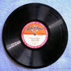 Discos de pizarra: DISCO 78 RPM PIZARRA - SERGIO TORRES EL CUCARACHERO - COPLAS BOYACENSES ( BOYACA, COLOMBIA )ES UNICO. Lote 50420856
