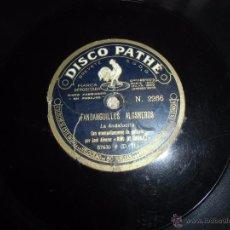 Discos de pizarra: DISCO DE PIZARRA LA ANDALUCITA DISCO PATHE. Lote 50832016