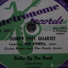 Discos de pizarra: SONNY STITT QUARTE FEATURING BUD POWELL, PIANO CURLEY RUSSEL, BASS & MAX ROACH, DRUMS ( TAKIN' A . Lote 50850180