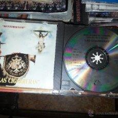 Discos de pizarra: CD SEMANA SANTA SEVILLA - SENTIMIENTO , LAS CIGARRERAS BANDA DE CORNETAS Y TAMBORES. Lote 50994622