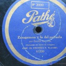 Discos de pizarra: DISCO DE PIZARRA . Lote 51045534