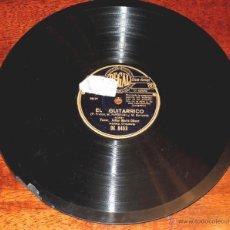Discos de pizarra: DISCO DE PIZARRA DEL TENOR JULIAN MARIO OLIVER, LOS GAVILANES / EL GUITARRICO, ED. REGAL, DK 8453, P. Lote 51101273