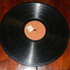 Discos de pizarra: DISCO DE PIZARRA ODEÓN A DOS CARAS / LA TEMPESTAD, MONÓLOGO 1ª Y 2ª PARTE. (CHAPÍ) / BARÍTONO ERNEST. Lote 51102591