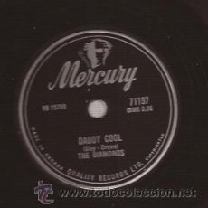Discos de pizarra: DISCO 78 RPM PIZARRA-THE DIAMONDS MERCURY 71197 CANADA 195??? DOO WOP VOCAL GROUP. Lote 51363635