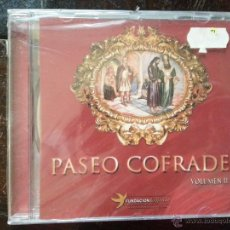 Discos de pizarra: CD SEMANA SANTA - PASEO COFRADE CALLES DE SEVILLA PRECINTADO. Lote 51472614
